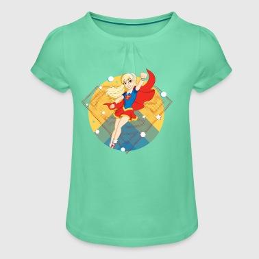 DC Super Hero Girls Supergirl - Jente-T-skjorte med frynser