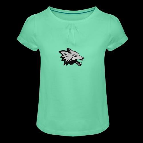 BlackFox | Fox - Maglietta da ragazza con arricciatura