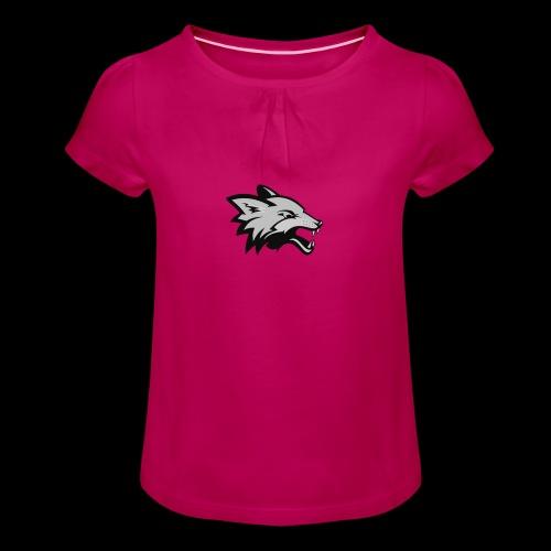 BlackFox   Fox - Maglietta da ragazza con arricciatura