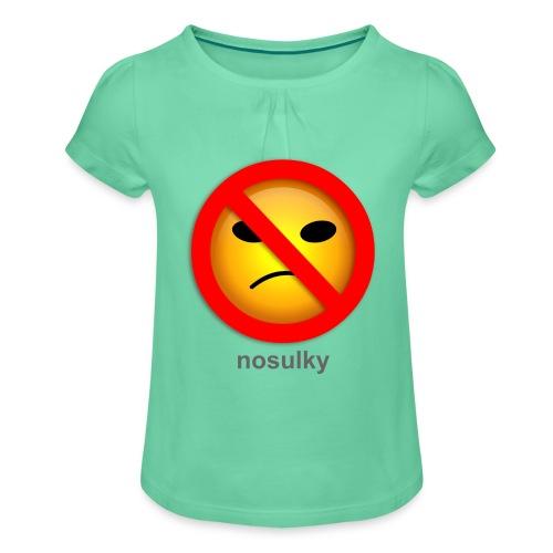 nosulky - T-shirt à fronces au col Fille