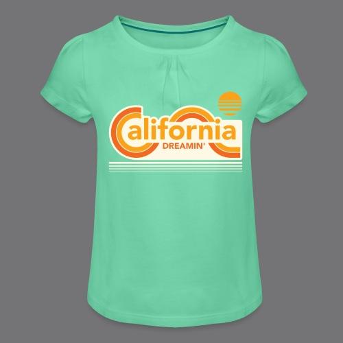 CALIFORNIA DREAMIN Tee Shirts - Girl's T-Shirt with Ruffles