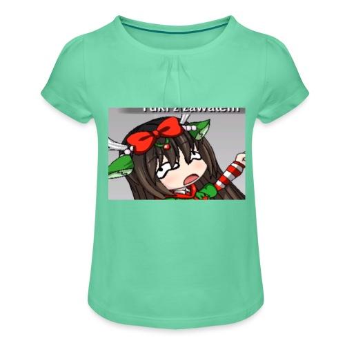 Onie! - Koszulka dziewczęca z marszczeniami