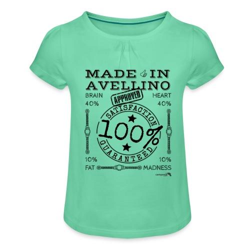 1,02 Prodotto a Avellino - Maglietta da ragazza con arricciatura