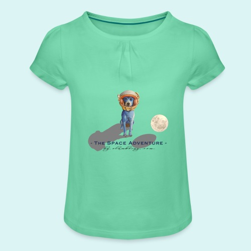 The Space Adventure - Girl's T-Shirt with Ruffles