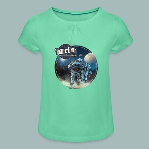 STMWTS Merch - Meisjes-T-shirt met plooien