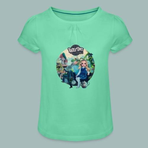Letting Go Merch - Meisjes-T-shirt met plooien