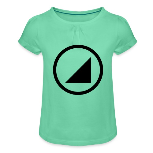 bulgebull dark brand - Girl's T-Shirt with Ruffles