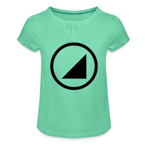 bulgebull marca oscura - Camiseta para niña con drapeado