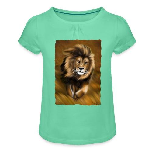 Il vento della savana - Maglietta da ragazza con arricciatura