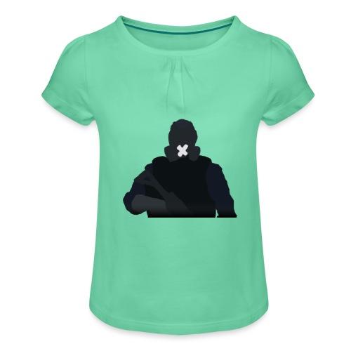 Mute - Koszulka dziewczęca z marszczeniami
