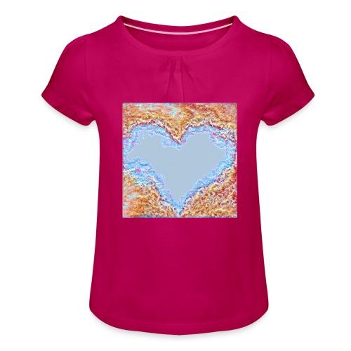 Hart - Maglietta da ragazza con arricciatura