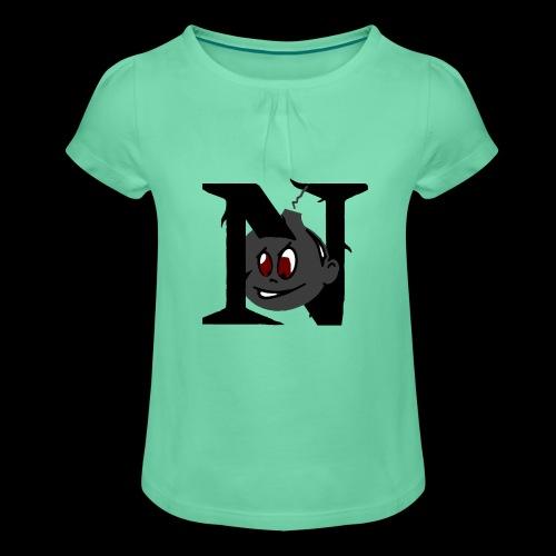 tete seul N - T-shirt à fronces au col Fille