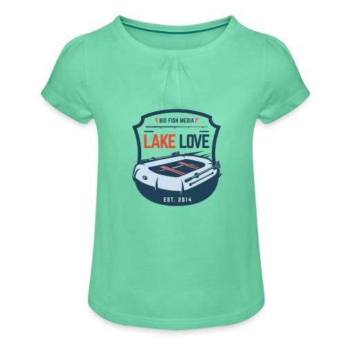 BFM Lake Love - Mädchen-T-Shirt mit Raffungen