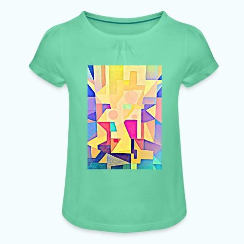 TRINITY - Girl's T-Shirt with Ruffles
