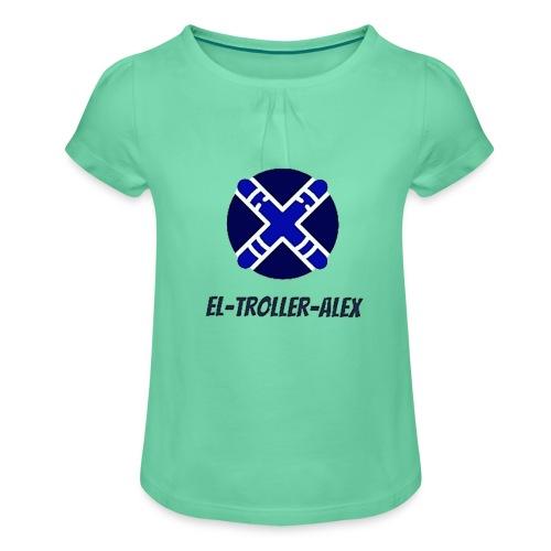 DISEÑO EL TROLLER ALEX EVO - Camiseta para niña con drapeado
