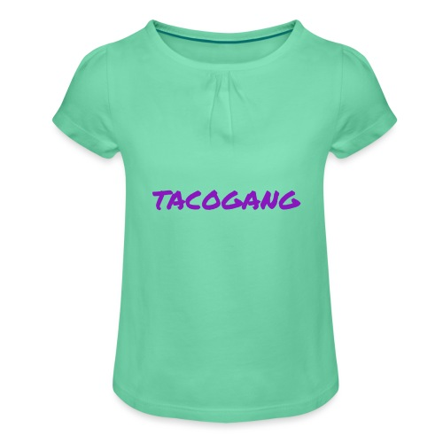 TACOGANG - Jente-T-skjorte med frynser