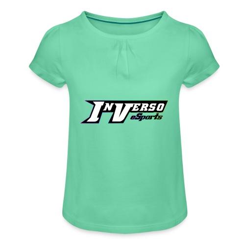 InversoeSpotsOfficial - Maglietta da ragazza con arricciatura
