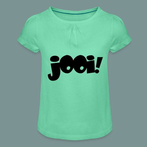Jooi - Meisjes-T-shirt met plooien
