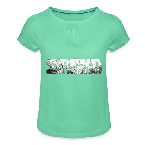 Dasko - Mädchen-T-Shirt mit Raffungen