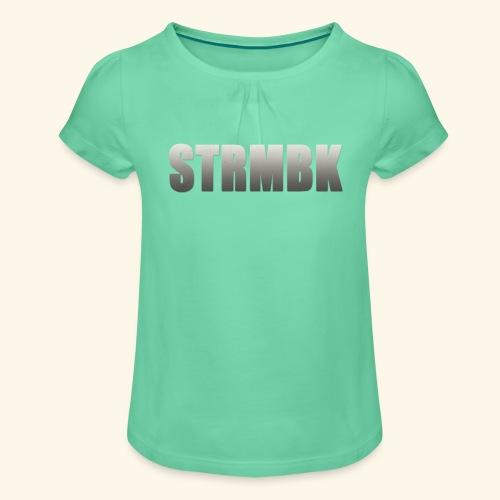 KORTFILM STRMBK LOGO - Meisjes-T-shirt met plooien
