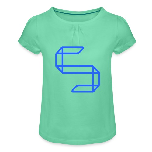 A S A 5 or just A worm? - Meisjes-T-shirt met plooien