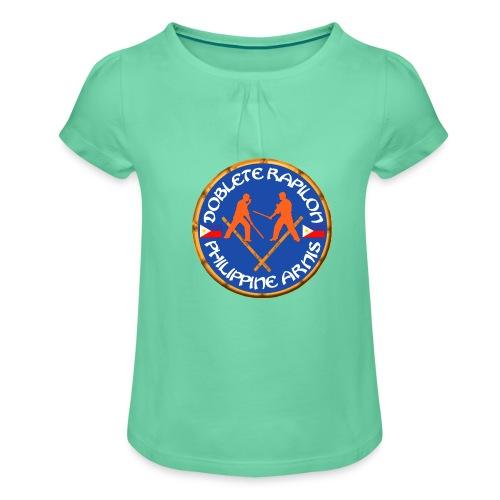 Arnis Kali Doblete Rapilon - T-shirt à fronces au col Fille