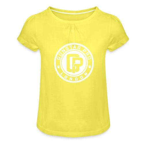 GunstarPro GYM - Girl's T-Shirt with Ruffles