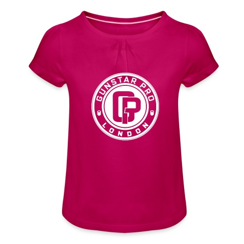 GunstarPro GYM - Girl's T-Shirt with Ruffles