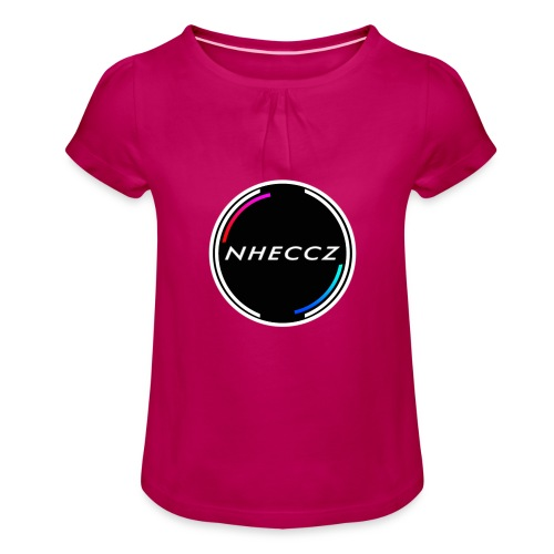 NHECCZ Logo Collection - Girl's T-Shirt with Ruffles