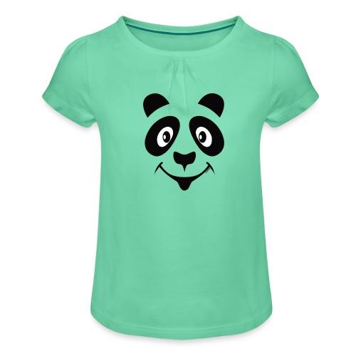 PANDA LOOK Textile and Gift Products FP10-52 - Tyttöjen t-paita, jossa rypytyksiä