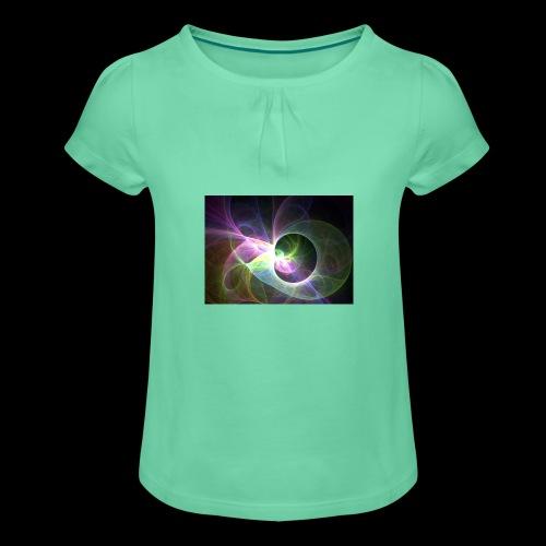 FANTASY 2 - Mädchen-T-Shirt mit Raffungen