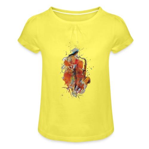 Jazz men - T-shirt à fronces au col Fille