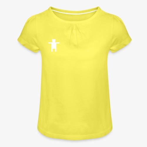 Women's Pink Premium T-shirt Ippis Entertainment - Girl's T-Shirt with Ruffles
