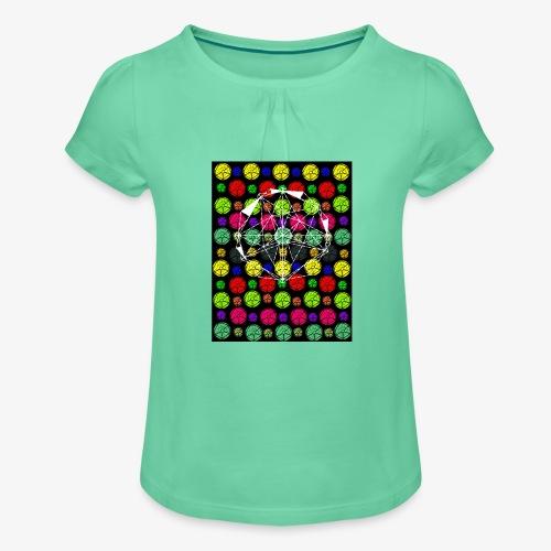 Copia de seguridad de grados - Camiseta para niña con drapeado