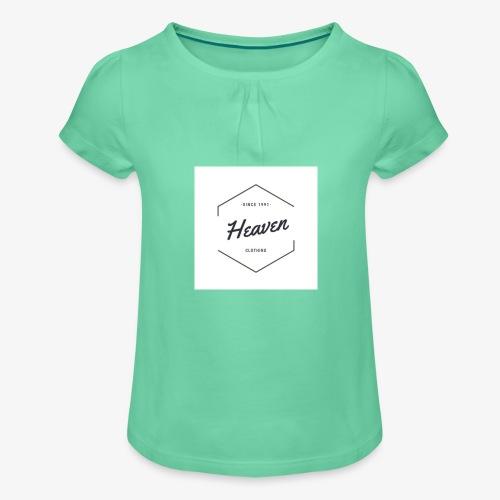 Heaven Since 1991 - Maglietta da ragazza con arricciatura