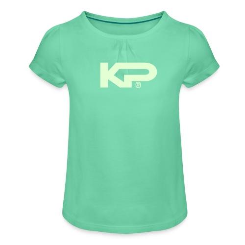 kpwit - Girl's T-Shirt with Ruffles