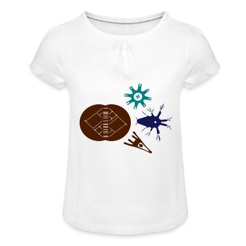 MorphoEvoDevo Special - Girl's T-Shirt with Ruffles