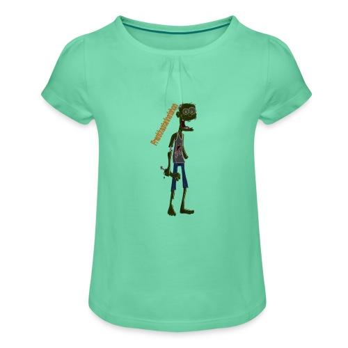 Frank00001 - Camiseta para niña con drapeado