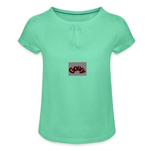 DF7644A4 0BAA 498F A5FF 7FDF8FFFBED2 - Meisjes-T-shirt met plooien
