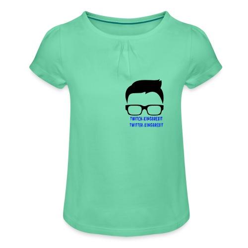 silloette - Girl's T-Shirt with Ruffles