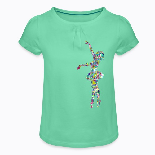 Ballet dancer - Girl's T-Shirt with Ruffles