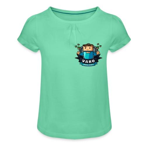 Varo Projekt - Mädchen-T-Shirt mit Raffungen