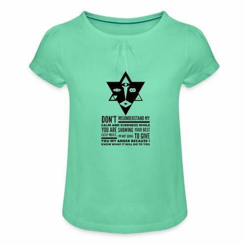 The Unordinary - Pige T-shirt med flæser