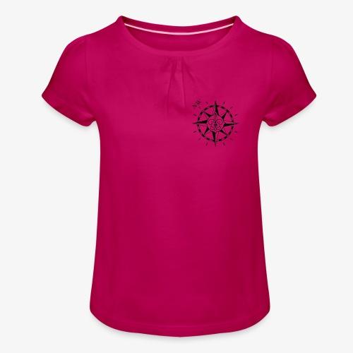 Nordwest - Tyttöjen t-paita, jossa rypytyksiä