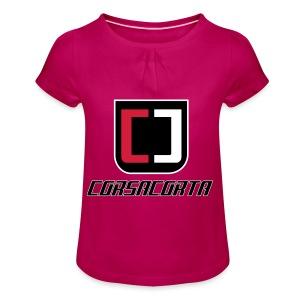 Cover Smartphone - Corsacorta - Maglietta da ragazza con arricciatura