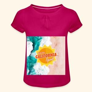 California Spirit Surfin - T-shirt à fronces au col Fille
