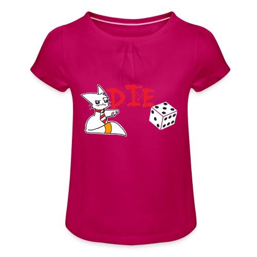 DIE - Girl's T-Shirt with Ruffles