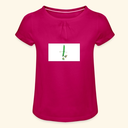 Beaned - Girl's T-Shirt with Ruffles