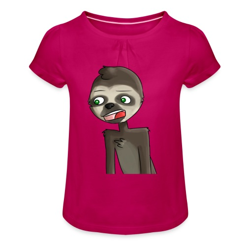 Accessories - Girl's T-Shirt with Ruffles