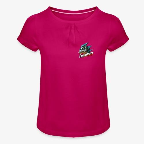 EMPI Wolf - T-shirt à fronces au col Fille